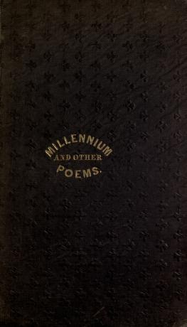 The Millennium, and Other Poems (Pratt)