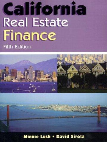 Download California real estate finance