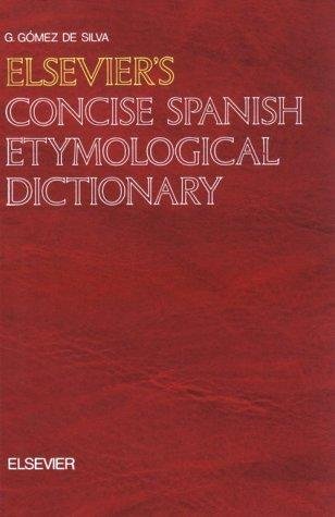Download Elsevier's concise Spanish etymological dictionary