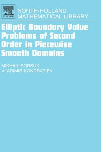 Elliptic boundary value problems of second order in piecewise smooth domains