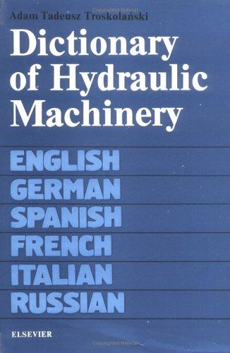 Download Dictionary of Hydraulic Machinery