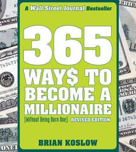 Download 365 Ways to Become a Millionaire