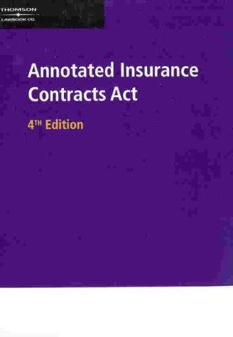 Download Annotated Insurance Contracts Act