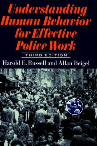 Download Understanding human behavior for effective police work