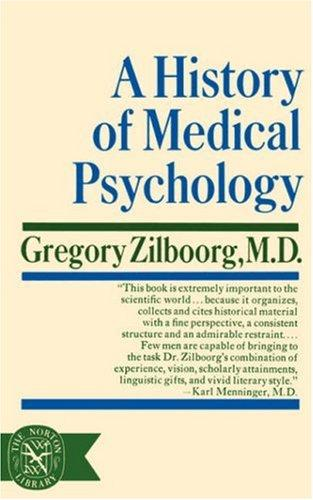 A History of Medical Psychology
