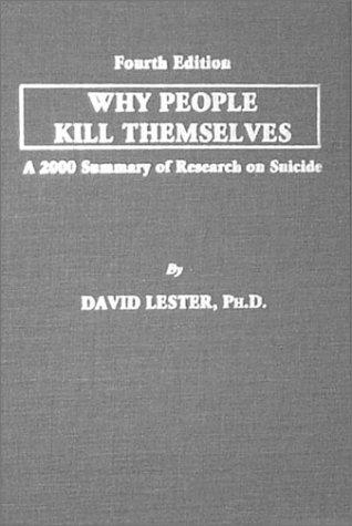 Why People Kill Themselves