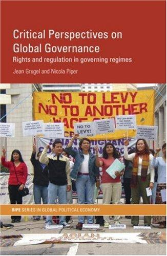 Download Critical Perspectives on Global Governance
