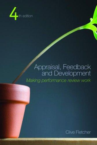Appraisal, Feedback and Development