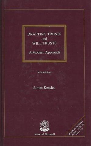 Drafting Trusts and Will Trusts