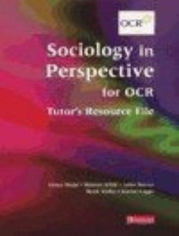 Sociology in Perspective for OCR