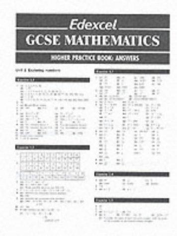 Download Edexcel GCSE Mathematics Practice Book