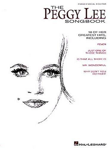 The Peggy Lee Songbook by Peggy Lee