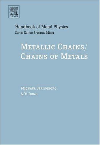 Metallic chains/chains of metals by