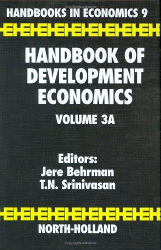 Handbook of development economics by