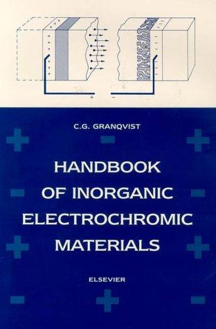 Handbook of inorganic electrochromic materials by Claes G. Granqvist