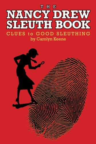 The Nancy Drew Sleuth Book by Carolyn Keene