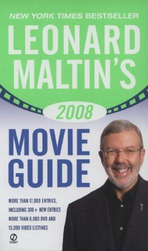 Leonard Maltin's 2008 Movie Guide (Leonard Maltin's Movie Guide (Signet)) by Leonard Maltin