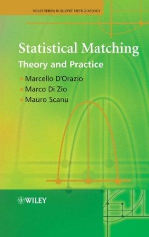 Statistical matching by