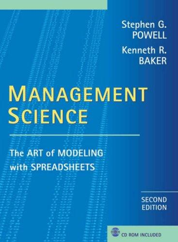 Management science by Stephen G. Powell