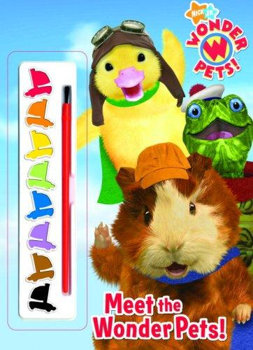 Meet the Wonder Pets! (Paint Box Book) by Golden Books