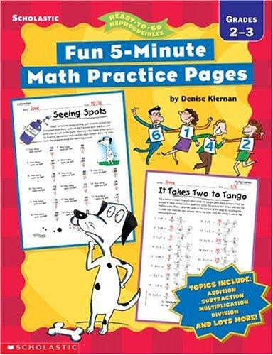 Fun, 5-Minute Math Practice Pages